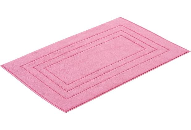 """Vossen Badeteppich \""""Vossen Feeling\"""" pretty pink 60 x 100 cm"""