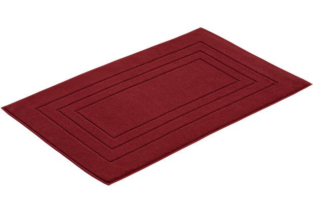Vossen Badeteppich Vossen Feeling red rock 60 x 60 cm