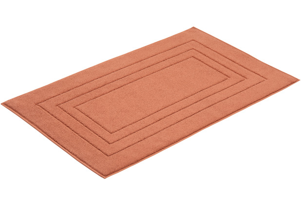 Vossen Badeteppich Feeling red wood 60 x 60 cm