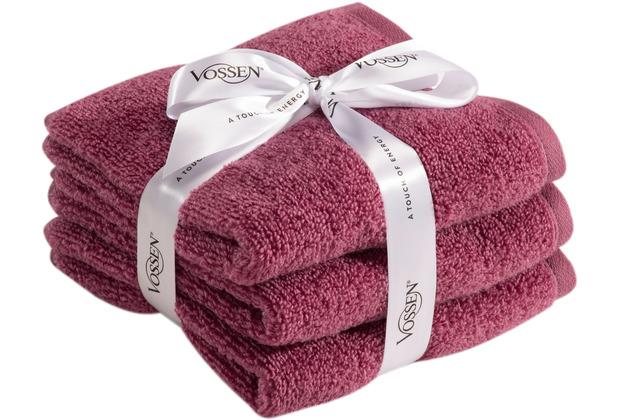 Vossen Frottierserie-Set Smart Towel blackberry 2x Duschtuch à 67x140 cm
