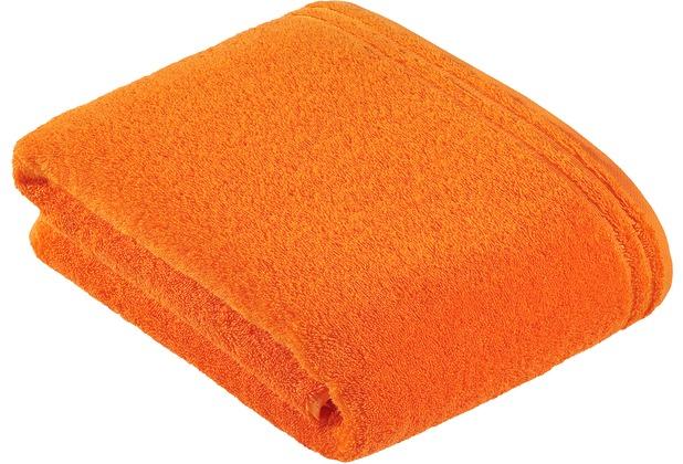 Vossen Frottierserie Calypso Feeling orange Badetuch 100 x 150 cm