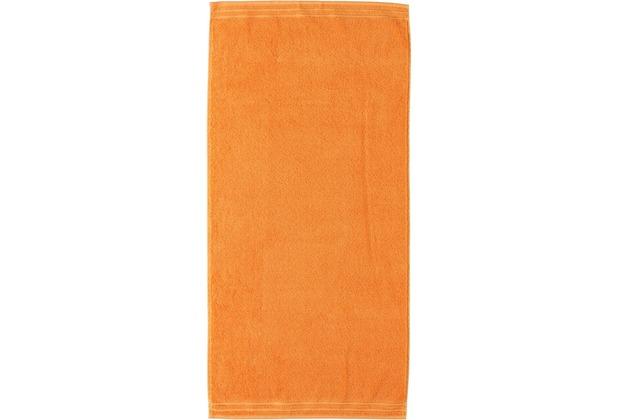 Vossen Frottierserie Calypso Feeling orange Handtuch 50 x 100 cm 2er-Set
