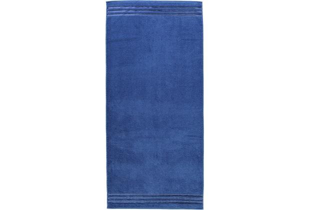 Vossen Frottierserie Cult de Luxe blau Badetuch 100 x 150 cm