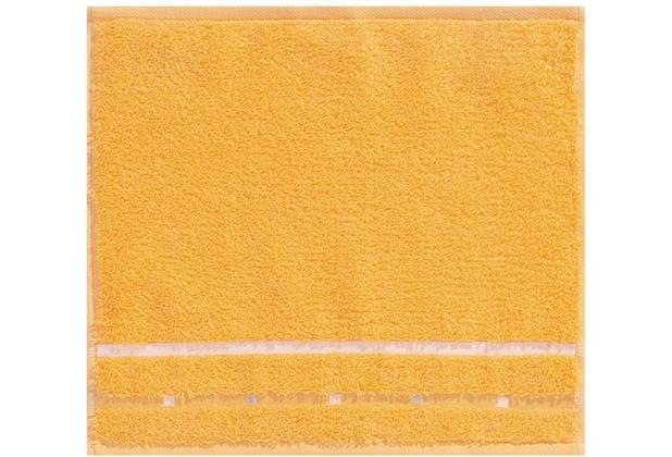 Vossen Seiftuch Quadrati melon/weiß 30 x 30 cm 4er-Set
