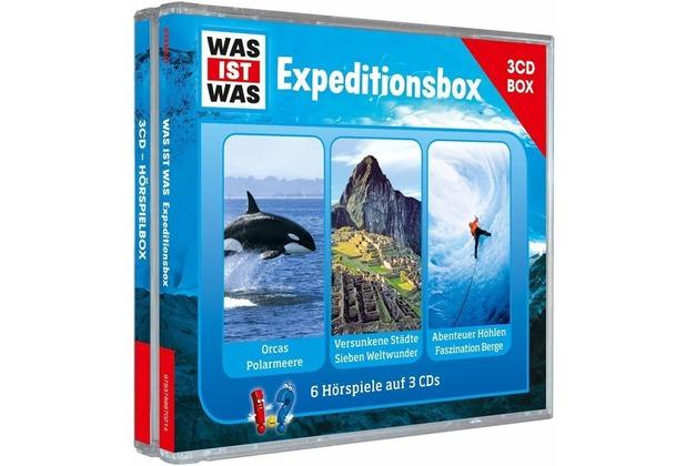 WAS IST WAS 3-CD Hörspielbox Vol.2-Expeditionsbox Hörbuch