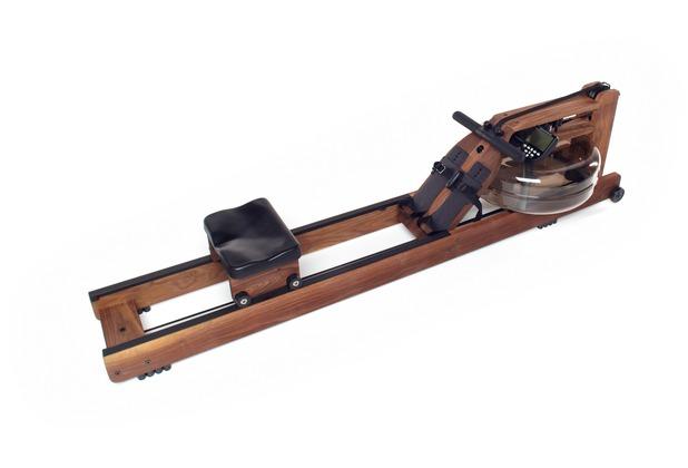 Waterrower Rudergerät Nussbaum mit Monitor
