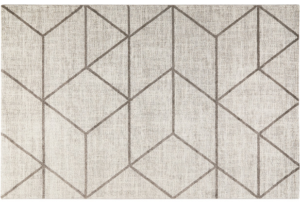 Wecon home Kurzflor-Teppich Bossa Lounge WH-00333-096 taupe 80x150