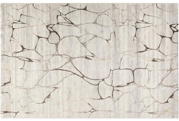 Wecon home Kurzflor-Teppich Solo Fields WH-00335-670 beige 80x150