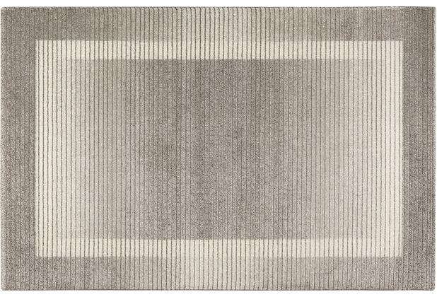 Wecon home Kurzflor-Teppich Velvet Flow WH-22893-095 grau 80x150