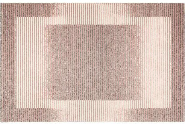 Wecon home Kurzflor-Teppich Velvet Flow WH-22893-655 rosa 80x150