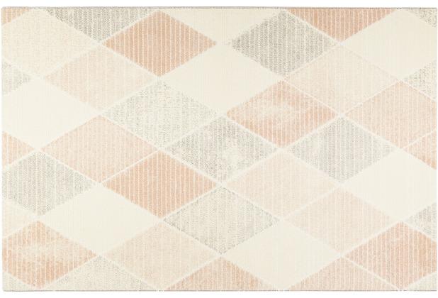 Wecon home Kurzflor-Teppich Velvet Mood WH-22894-655 beige 80x150
