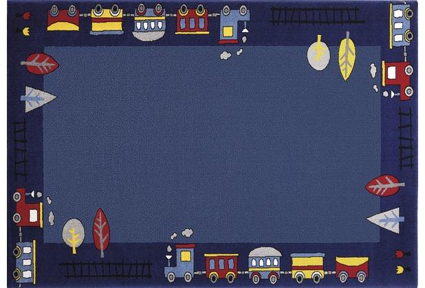 Wecon home Teppich, Funny Train, WH-0767-01 80 cm x 150 cm