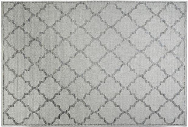 Wecon home Outdoorteppich Gleamy WH-4630-030 silber 80x150