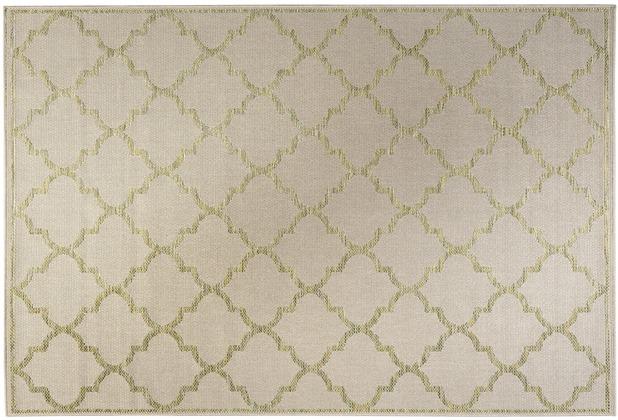 Wecon home Outdoorteppich Gleamy WH-4630-740 beige 80x150