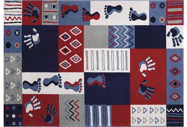 Wecon home Kinderteppich Hands & Feet WH-0761-03 80 cm x 150 cm