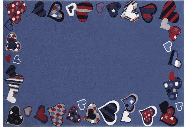 Wecon home Kinderteppich Just Hearts WH-0766-04 80 cm x 150 cm