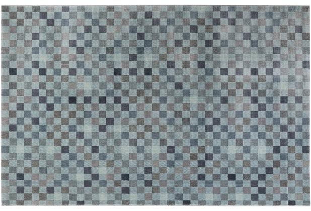 Wecon home Teppich Physical 2.0 WH-0870-08 blau 80x150