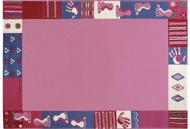 Wecon home Kinderteppich Roundly hands & Feet WH-0760-01 80 cm x 150 cm