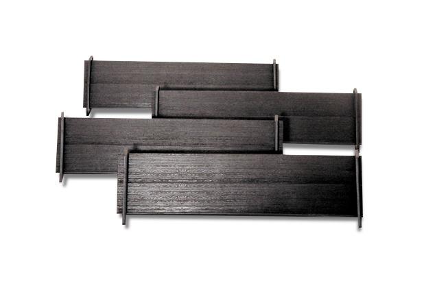 Weico Bänke und Eckhalter 4er Set für Reise-Rummy 17 cm
