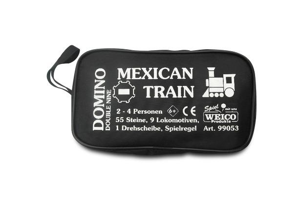 Weico Domino Mexican Train in Tasche