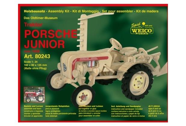 Weico Holzb. Traktor Porsche Junior