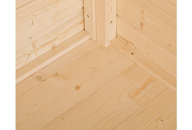 Weka Boden für Gerätehaus 346 Gr.3, natur