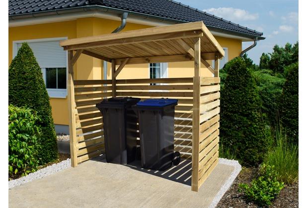 weka brennholzlager 663 b gr 1. Black Bedroom Furniture Sets. Home Design Ideas