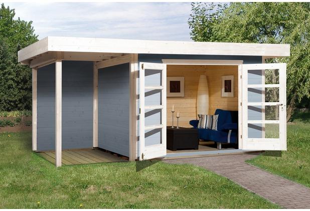 Weka Designhaus 126 A Gr.1, grau, 28 mm, DT, Anbau 150 cm, ohne RW