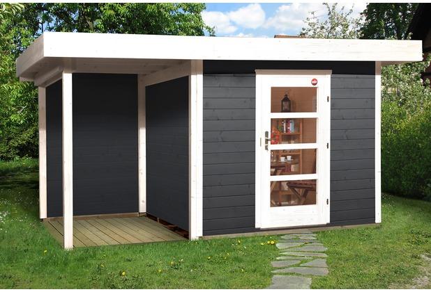 Weka Designhaus 172 A Gr.1, anthrazit, 28 mm, ET, Anbau 150 cm, ohne RW
