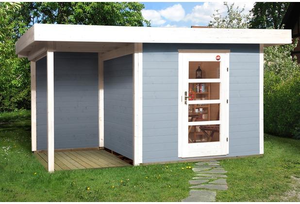 Weka Designhaus 172 A Gr.1, grau, 28 mm, ET, Anbau 150 cm, ohne RW