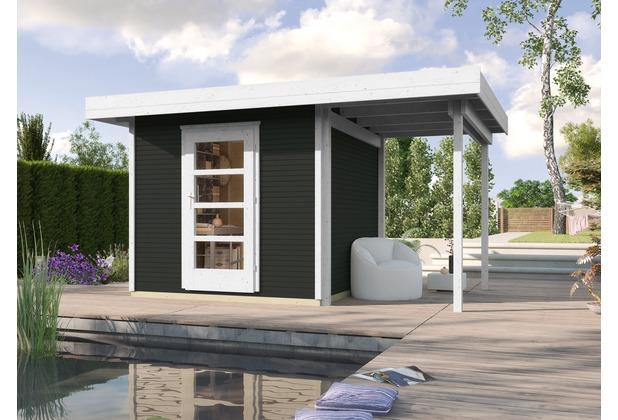 Weka Designhaus wekaLine 172 A Gr.2, anthrazit, 28 mm, ET, Anbau 150 cm