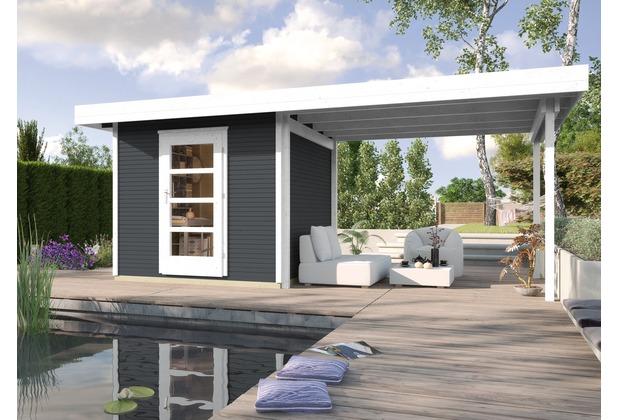 Weka Designhaus wekaLine 172 B Gr.2, anthrazit, 28 mm, ET, Anbau 300 cm