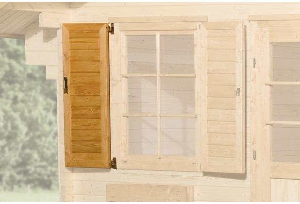 Weka Fensterladen 1-seitig für Fenster 84x113cm (149/177)