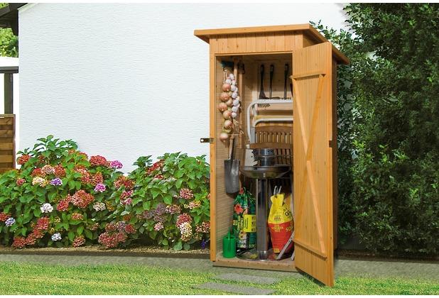 Weka Garten-/Terrassenschrank 361 Gr.1 Flachdach, 14mm, ET