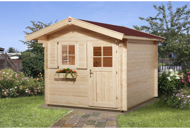 Weka Gartenhaus Premium28 FT, 250 x 250, V60