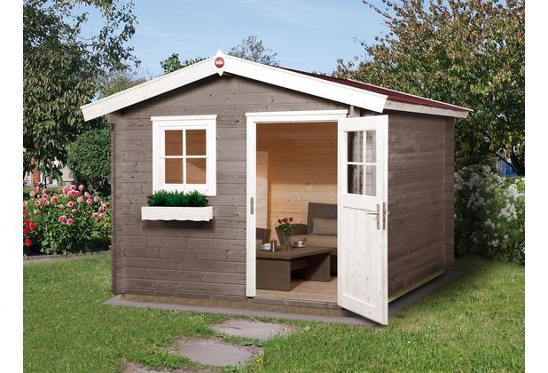 Weka Gartenhaus Premium28 FT, 250 x 250