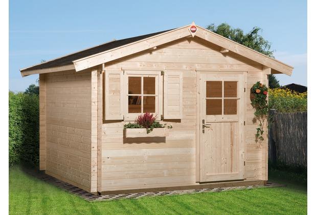Weka Gartenhaus Premium28 FT, 300 x 300