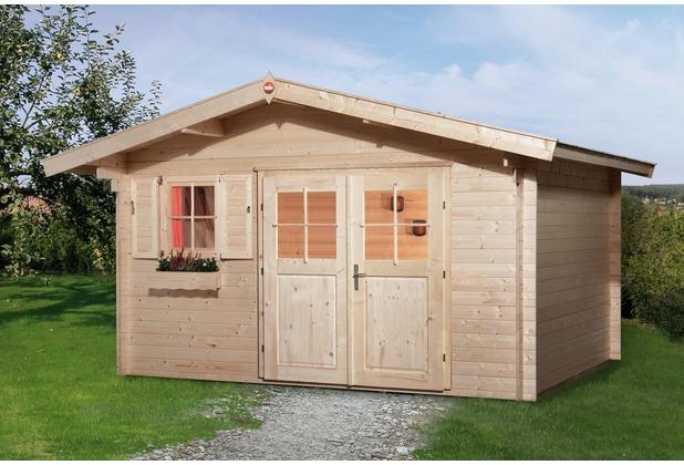Weka Gartenhaus 111 Gr.3, 28 mm, V60, DT, EF