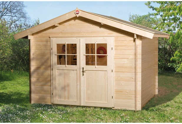 Weka Gartenhaus Premium28 DT, 250 x 250