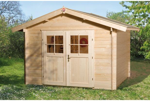 Weka Gartenhaus Premium28 DT, 300 x 380
