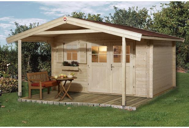 Weka Gartenhaus 136 A Gr.2, 45 mm, V200, DT, EF
