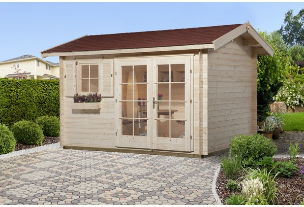 Weka Gartenhaus 163 Gr.3, 28 mm, DT, EF, seitl. Eingang