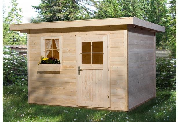 Weka Gartenhaus 170 Gr. 3 natur