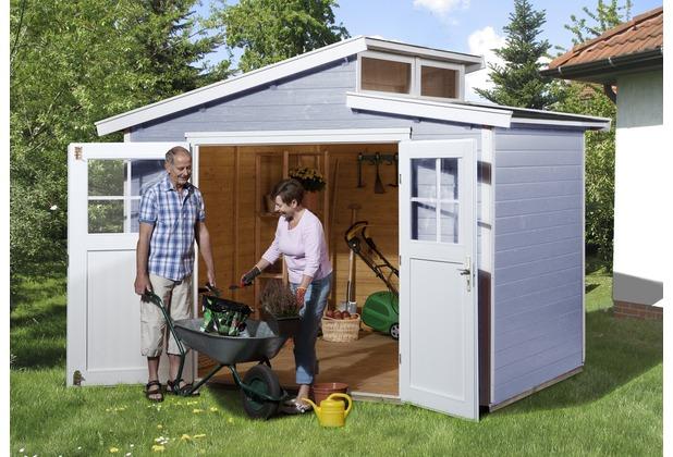 weka gartenhaus 226 gr 3 grau 21 mm. Black Bedroom Furniture Sets. Home Design Ideas