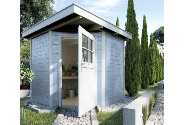 Weka Gartenhaus 229 Gr.1, grau, 21 mm