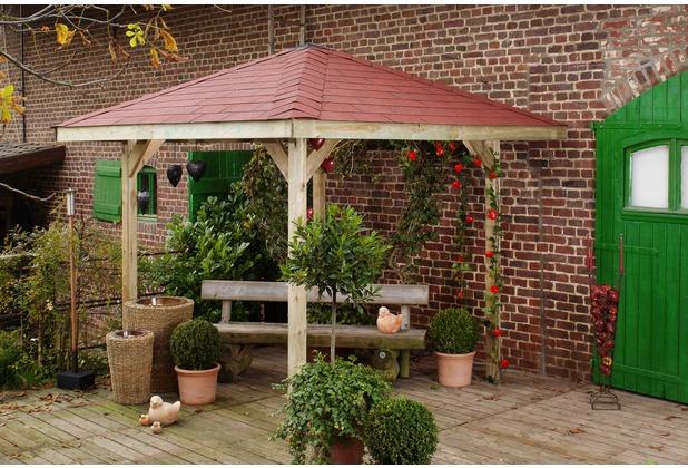 Weka Gartenoase 651 Gr.1, Sparset inkl. roten DS