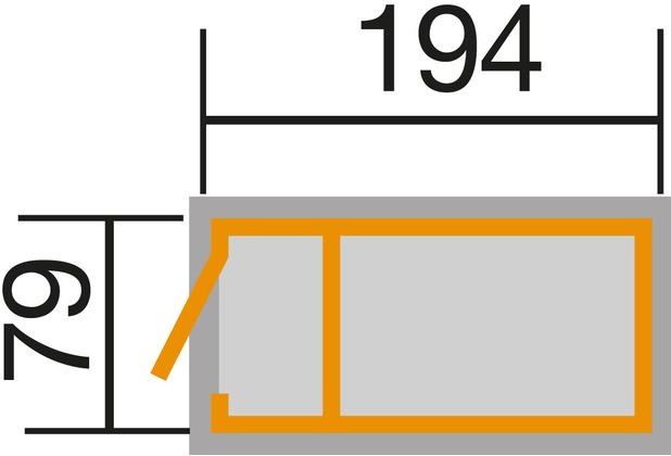Weka Hochbeet 194x 80 Cm 19 Mm Lasiert Inkl Abstellraum Mit