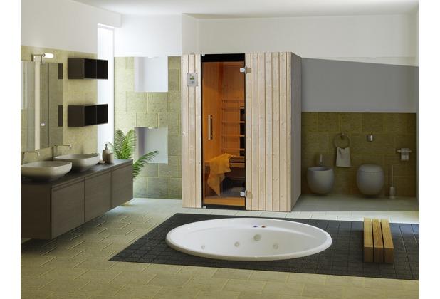 weka infrarotkabine 543 gr 2 fichte natur. Black Bedroom Furniture Sets. Home Design Ideas
