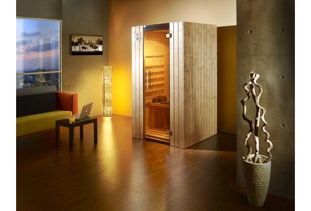 weka infrarotkabine 548 gr 1 fichte natur. Black Bedroom Furniture Sets. Home Design Ideas