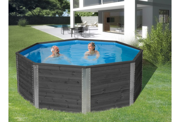 Weka massivholzpool 593 a ebay for Pool aufstellbar